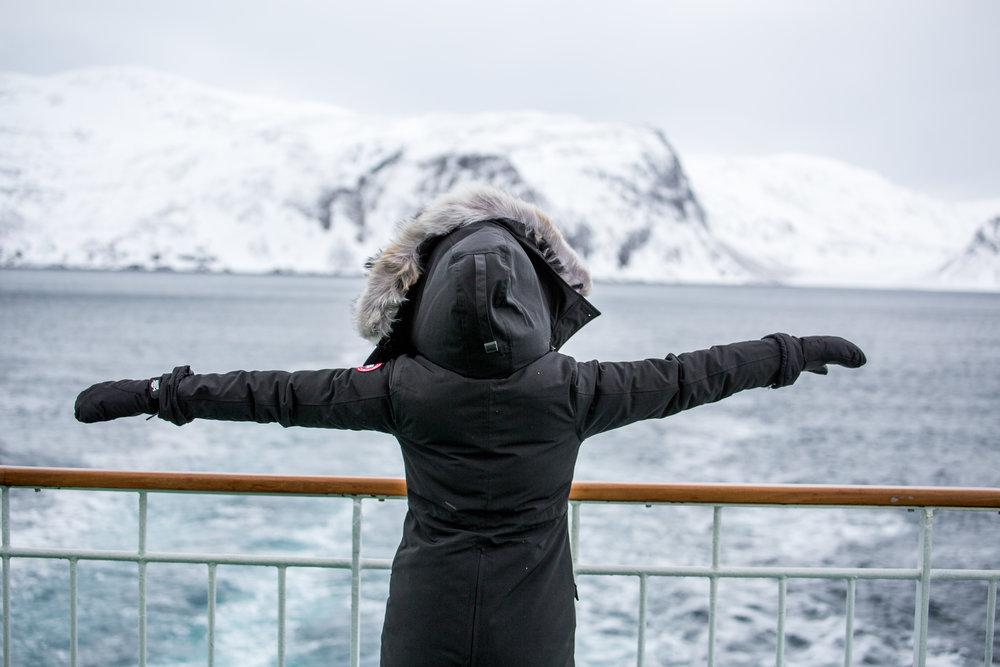 Hurtigruten Boat