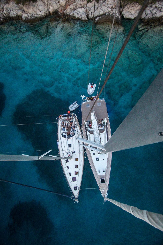 Sail boat Cove