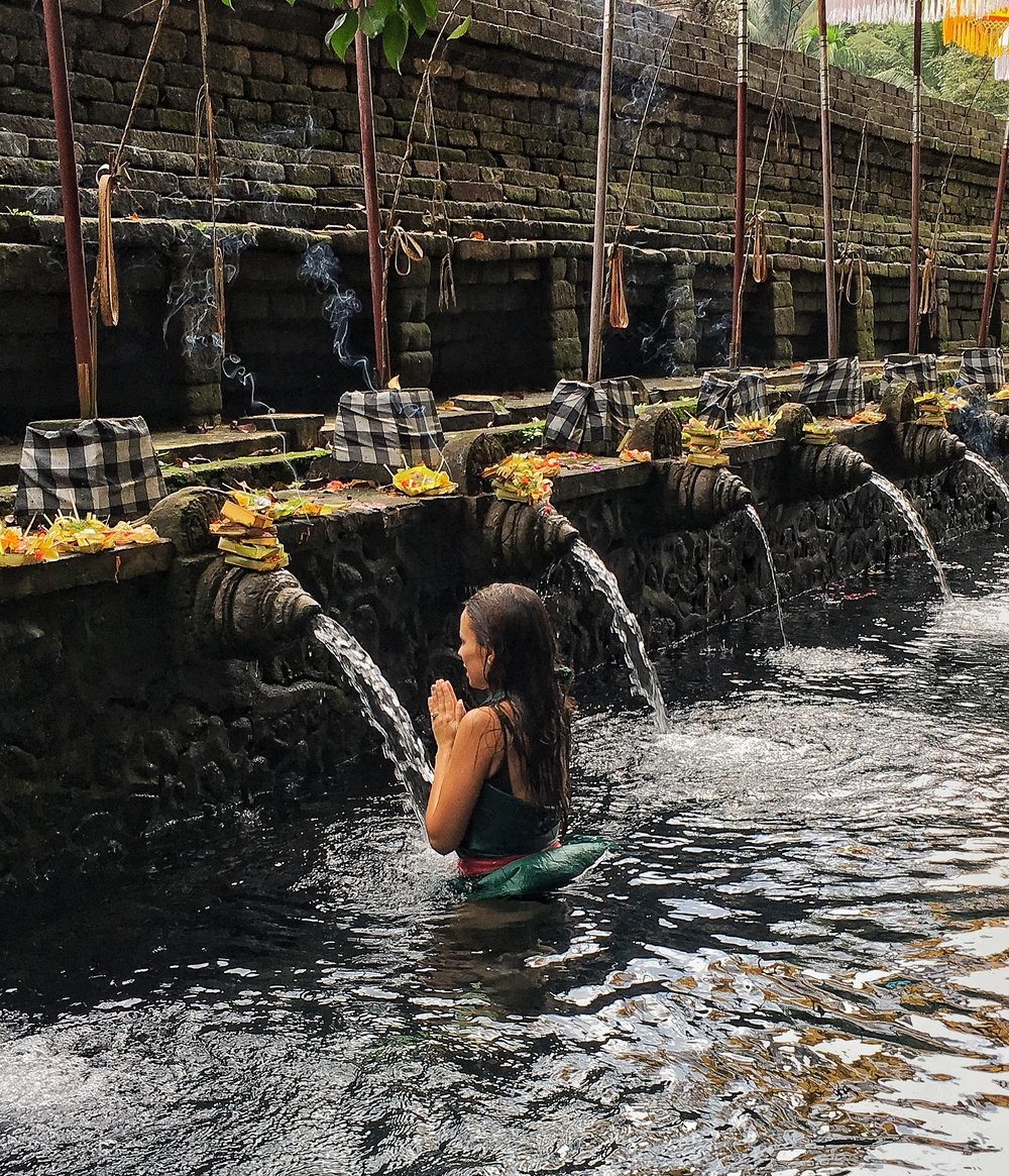 Purification Ceremony at Pura Tirta Empul