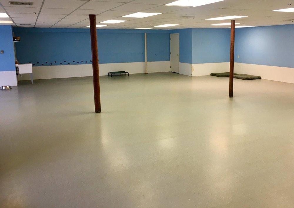 2000 sq. ft. Indoor Space -