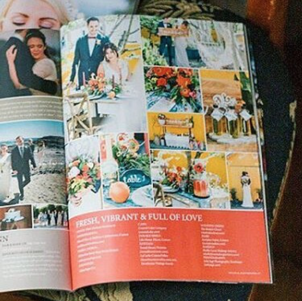 Published Summer Wedding