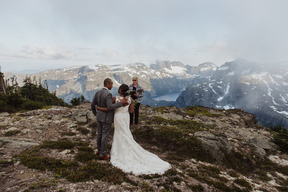 On top of a Mountain Elopement  Certified Wedding and event Planner