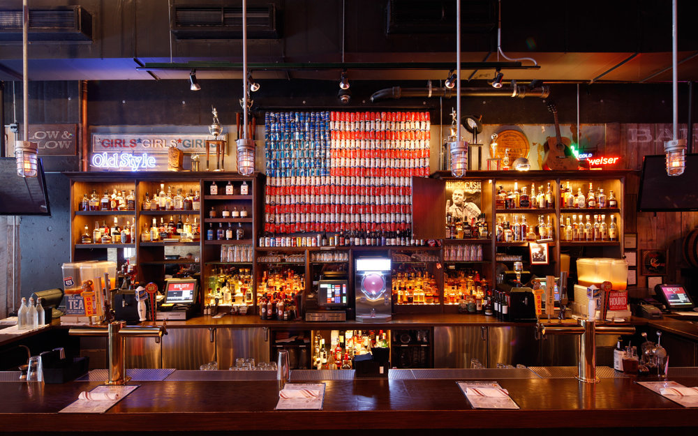 BUB CITY   Spacious industrial bar with a country-Western theme and a menu filled with BBQ and American comfort food.