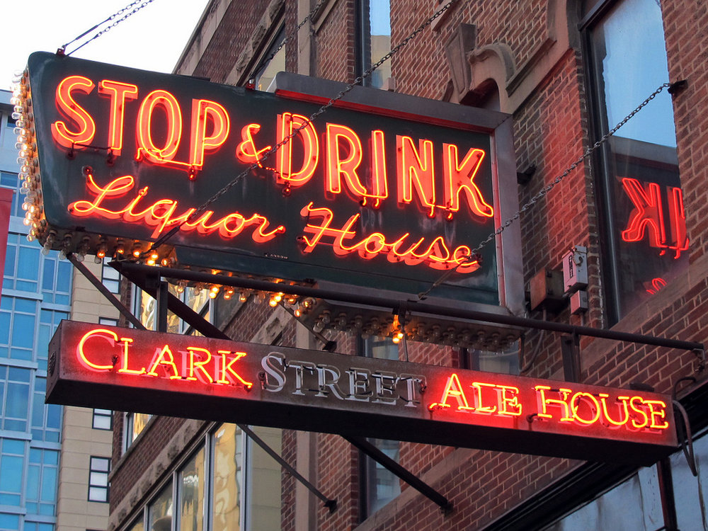 CLARK STREET ALE HOUSE   A casual pub environment serving an extensive beer list in an industrial space.