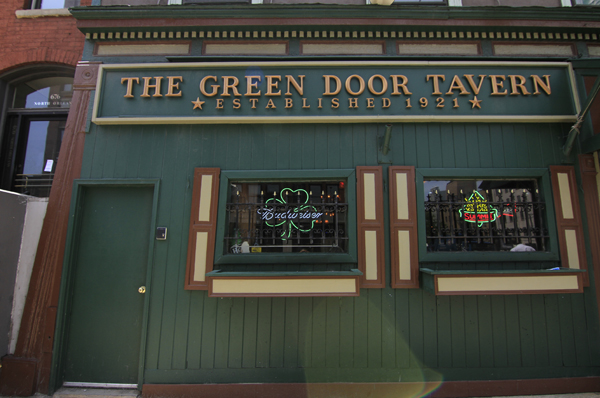THE GREEN DOOR TAVERN   Long-running watering hole featuring American fare and monthly improv in a comfy, vintage setting.