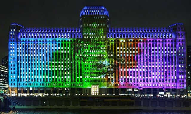 Don't just witness Art on theMART, be immersed in it! The largest permanent digital art projection is back, and to accompany the new program, there will be exclusive audio content that corresponds with the projections on ArtontheMART.com. Bring your headphones, and see #artontheMART Wednesday to Sunday beginning about 15 minutes after sunset.