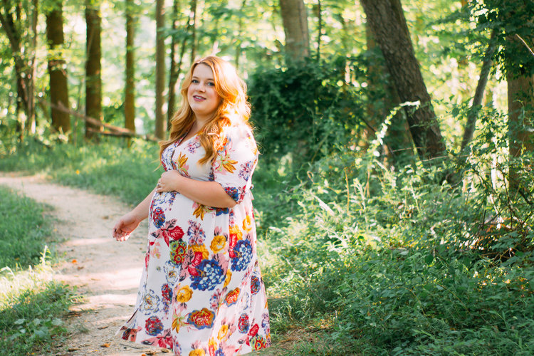 f5152c892b66a I've been wearing the mess out of this airy, floral dress for the past  couple months so I'm excited to finally get to share my maternity take on  the Darling ...