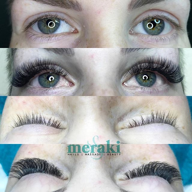 When the fluff is perfect 👌🏻Call and book your appointment today! ——— ❣️Treatment:  Russian Volume Full Set ⚜️Purpose: Enhance eyes and overall facial features by balancing natural eye shape. Each client's treatment is uniquely designed for their eye shape and desired effect. ✨Technique: Creating 4 our more fine lash extensions into custom fans and carefully placing it onto each single natural lash 📞Phone: 978-255-1179 🌎Website: merakispainc.com 💌 Email: info@merakispainc.com 📍Location: Newburyport, Ma. 💲Cost: 250 ⏱Time: 3 hours 👍🏻Lasts: 5-8 weeks without fills; with fills - indefinitely ✏️Notes: Notes: Each client has different lash retention so it is important to follow proper after care instructions 💳 Deposit: First time clients require $50 deposit or 48 hour cancellation 💆🏼‍♀️Naps: Complimentary ——- * * * #ExtensionsByKrysteen #beforeandafter #lashes #lashlove #lashartist #eyelashes #eyelashextensions #lovelashes #lashglue #minklashes #silklashes #classiclashes #2dlashes #3dlashes #lashlife #nomascara #volumelashes #russianvolume #merakispainc #newburyport #newburyportma #krysteenvo #GetLashed