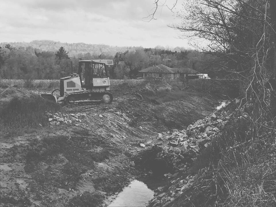 Excavations -