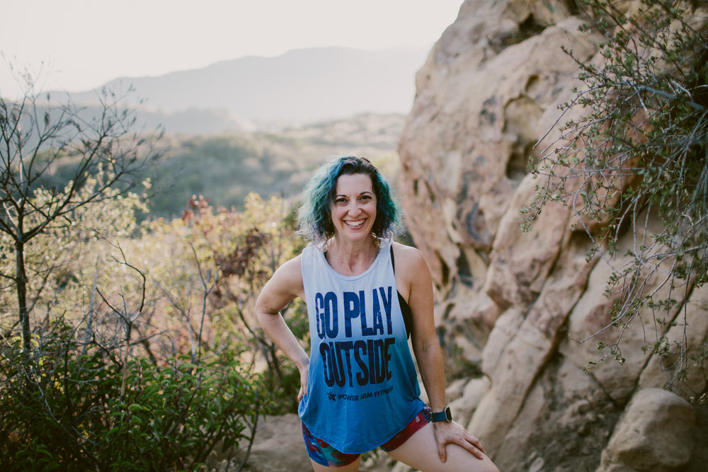 Retired roller derby athlete, obstacle racer and Seasoned Athlete Host Robin Legat