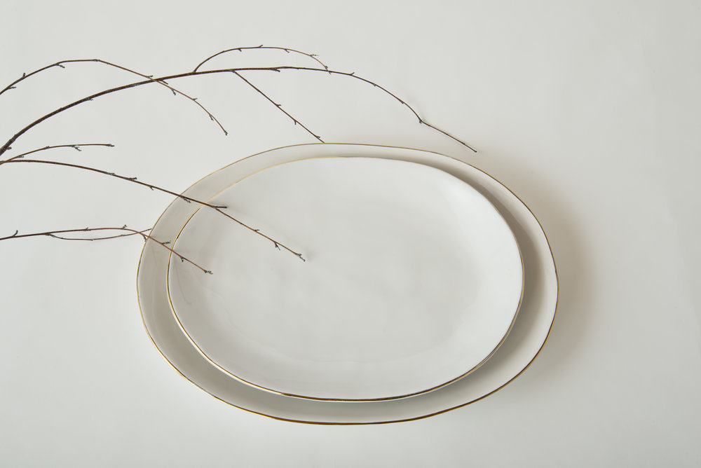 Julianna Small and Large Serving Platters