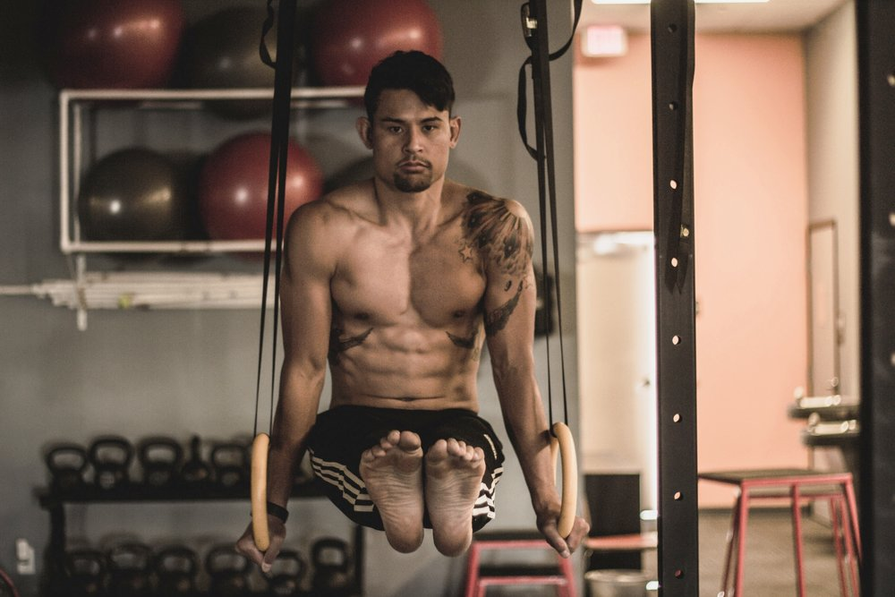 Improvements In Overall Strength  - Gymnastic Strength training develops strength through every possible range of motion you can imagine. You will work muscles in ways you never thought possible, and you will be rewarded with unparalleled strength gains.