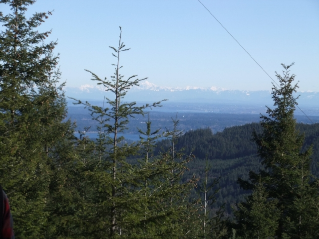 North Kitsap County from Gold Mountain