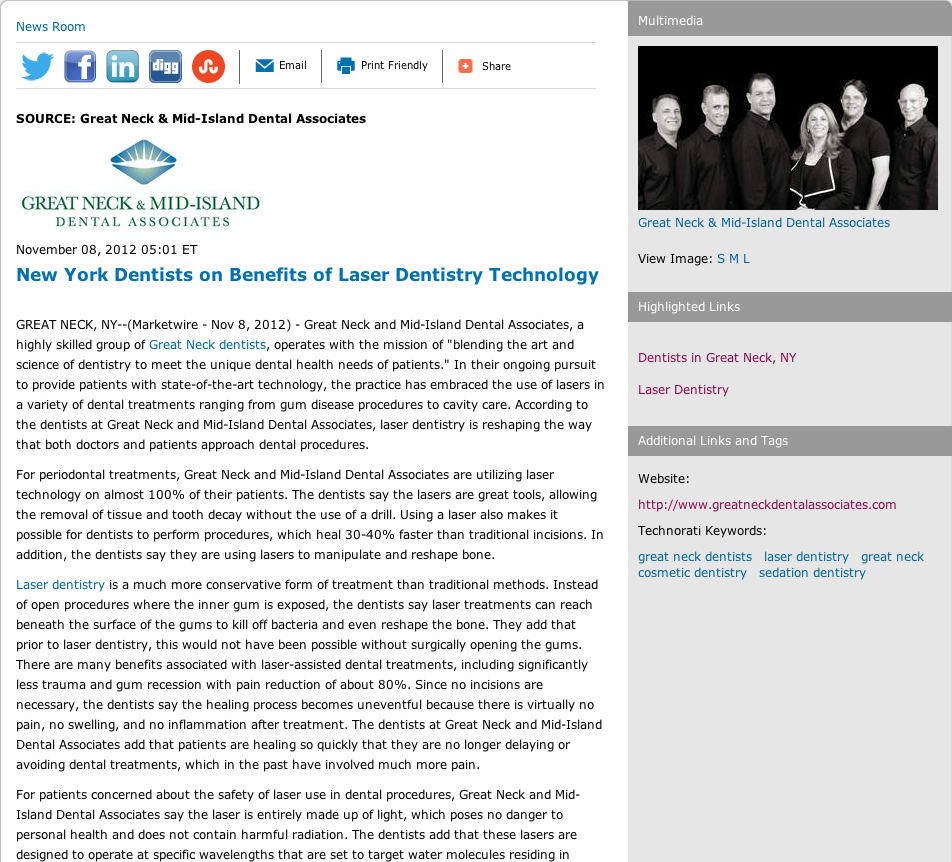 new york dentists, laser dentistry,great neck cosmetic dentistry