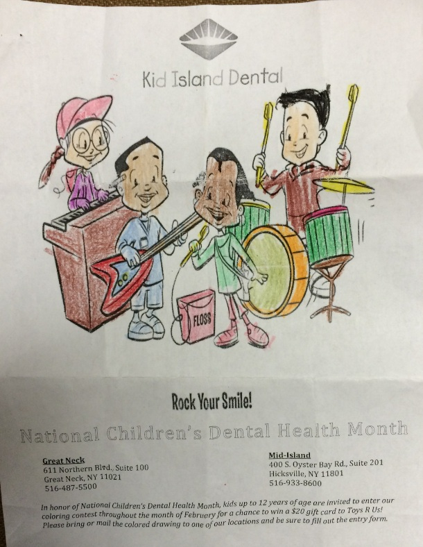 Daniel Mid Island Coloring Contest