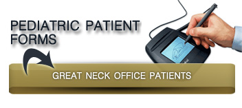 pediatric patient forms button great neck