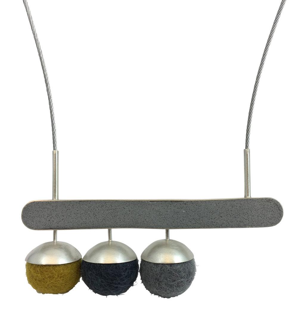 Horizontal Drop Necklace