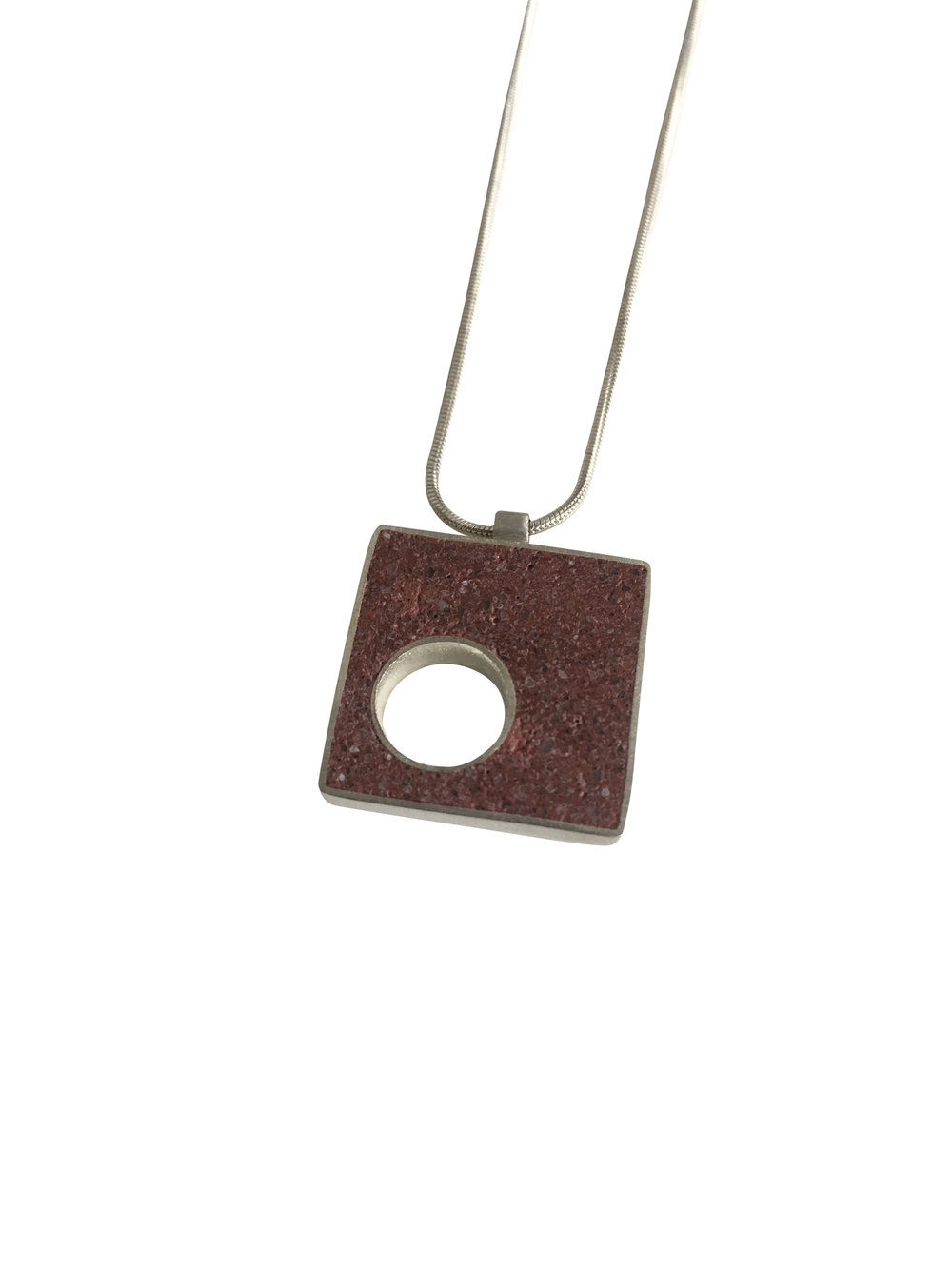 Simple Panton Necklace
