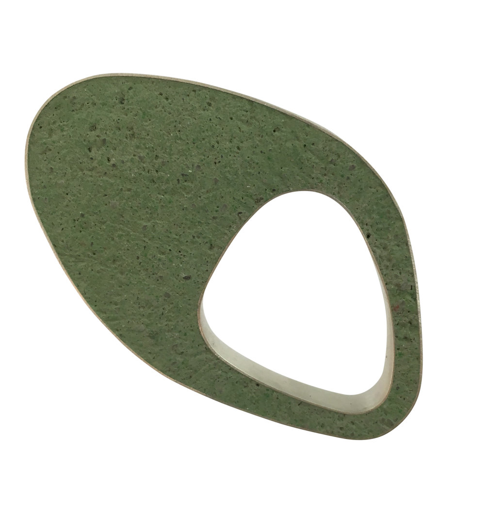 Green Egg Pin