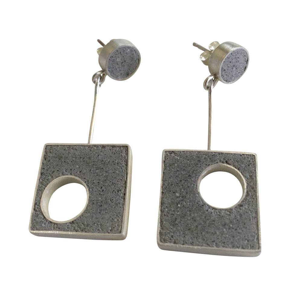 2 Piece Panton Earrings