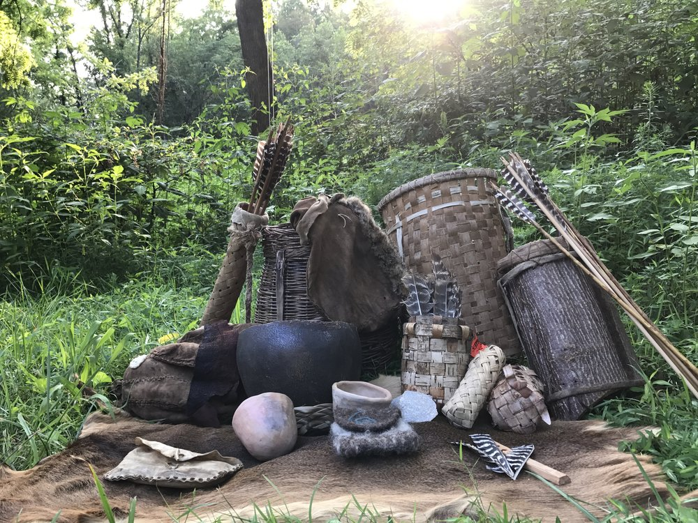 Primitive skills courses - Wood, stone, fiber, and bone! Learn skills using only the natural materials found around you.
