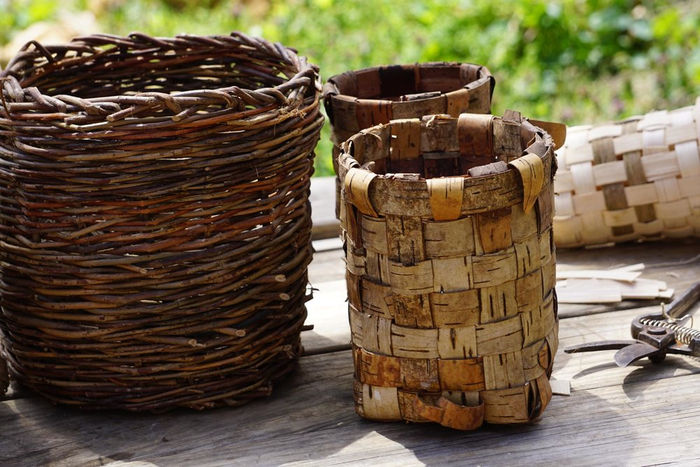 EarthCrafts - Learn how to go beyond survival and make anything you need from the landscape around you.  Baskets, tools, drums, pottery etc.
