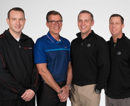 Left to right:   Ryan Belcher (Toyota Direct), Bruce Daniels (Performance Columbus), Denny  Friermood (Performance Chrysler Jeep Dodge Ram – Delaware), Ted Johnson    (Performance Chrysler Jeep Dodge Ram – Georgesville)