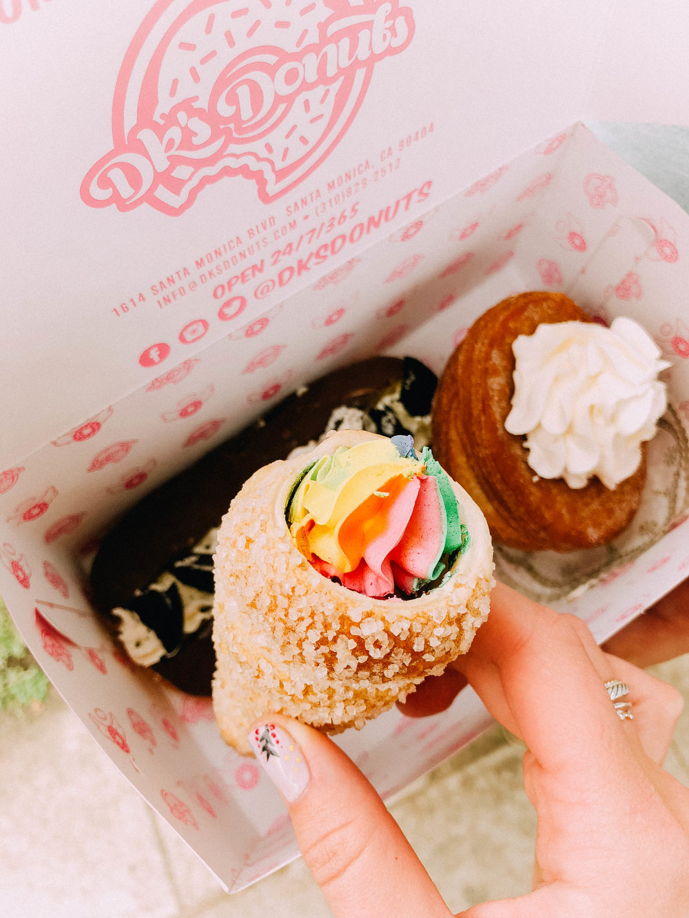DK Donuts : Santa Monica
