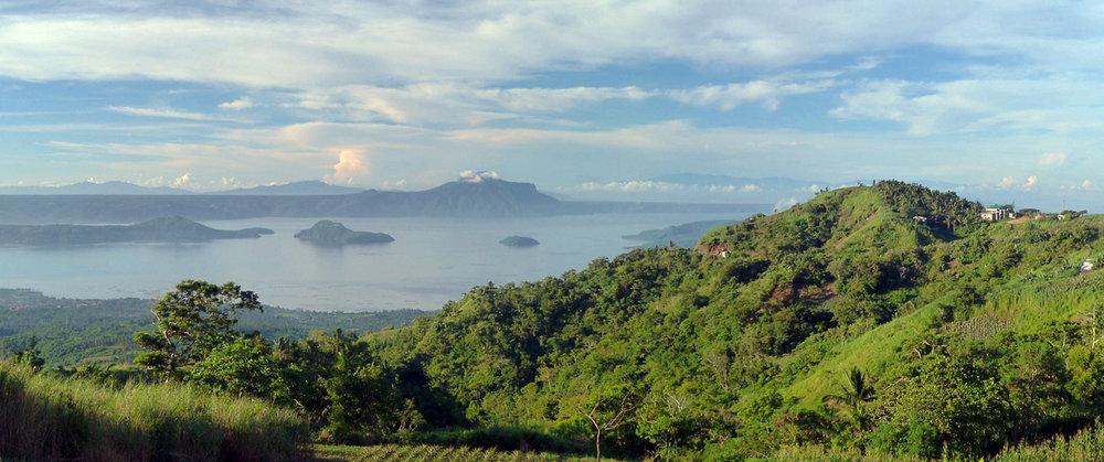 Taal Volcano and Lake Taal, Tagaytay. Image:   Krystian Win