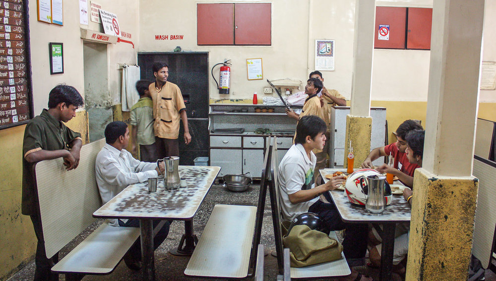 The Bagdadi restaurant in Mumbai in 2009.   Image:   © Alan Williams