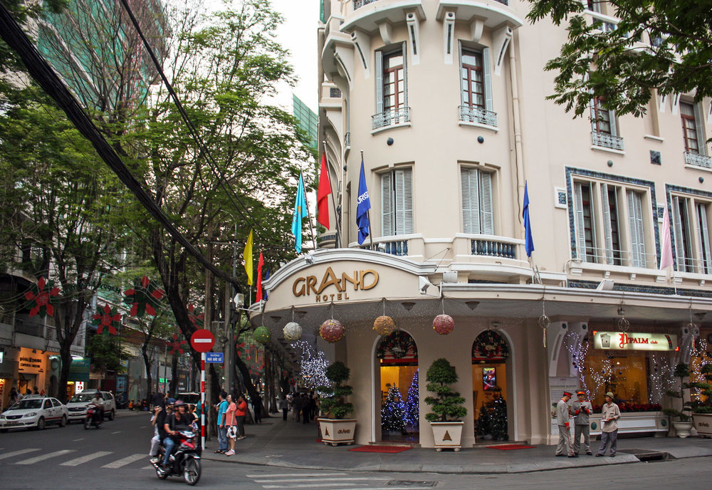 The Grand Hotel on Dong Khoi Street.  Image:   © Alan Williams