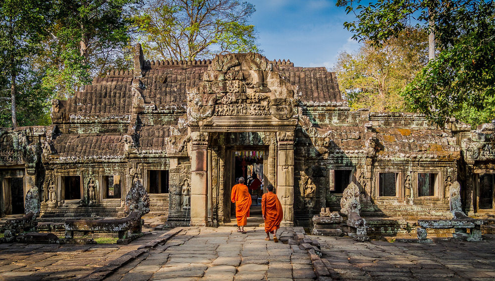 Angkor Wat in Cambodia is a UNESCO World Heritage SIte. Image:     Poswiecie