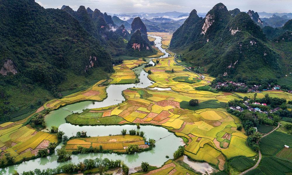 Vietnam boasts some beautiful rural scenery. Image:   Thuy Ha Bich