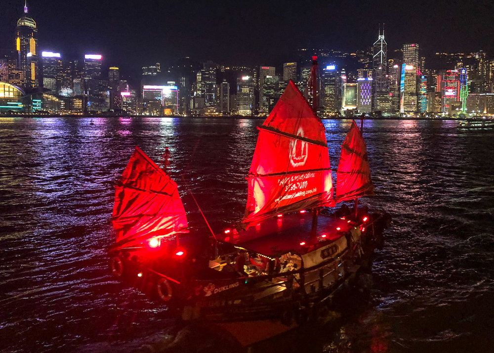 A harbour dinner cruise on the Duk Ling. Image:  © Nannette Holliday