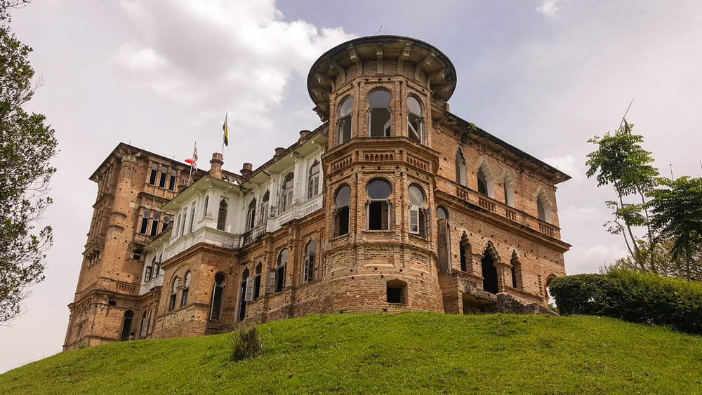 Kellie's Castle on the outshirts of Batu Gajah. Image:   Iszarizal Ismail