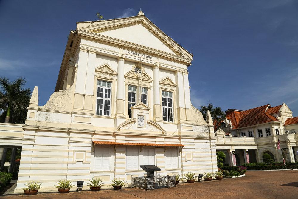 Batu Gajah's old colonial court house. Image:  © Alan Williams