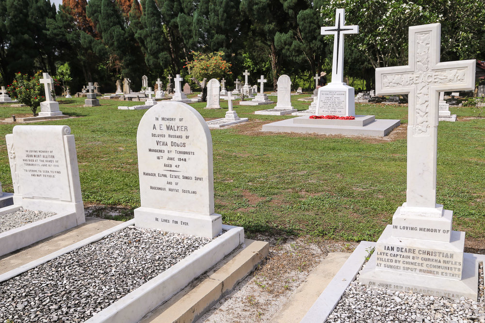 The planters' grave in the Christian cemetery. Image:  © Alan Williams