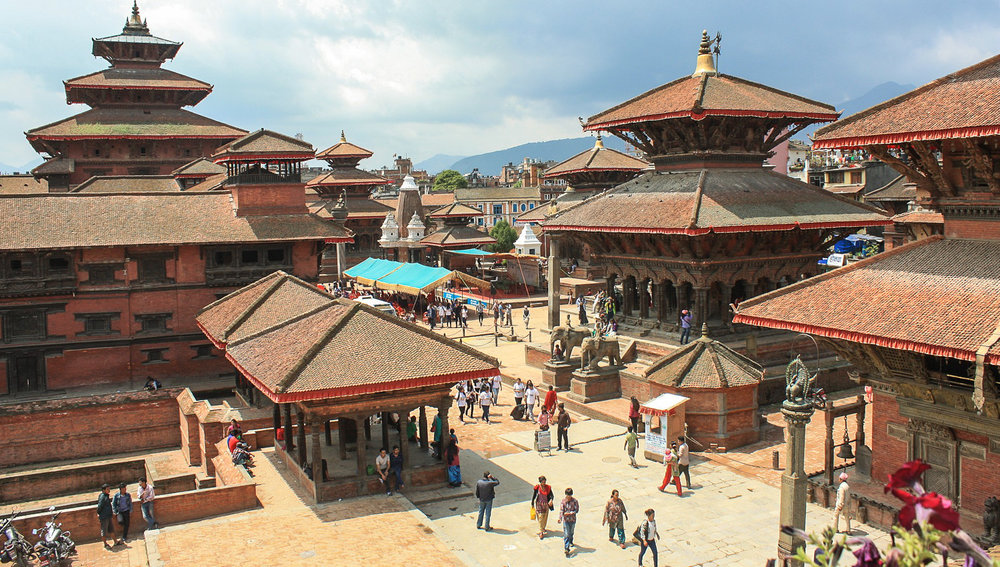 Durbar Square before the earthquake.   Image:   Wolfgang Reindl