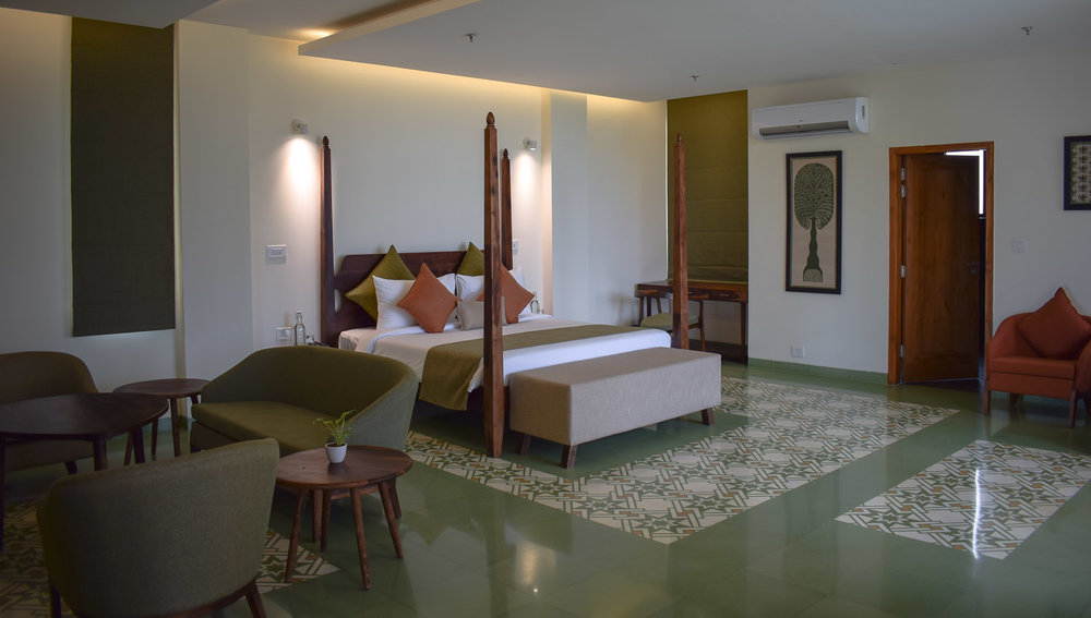 One of the suites at the Nadd wellness centre. Photo:  © Ambica Gulati