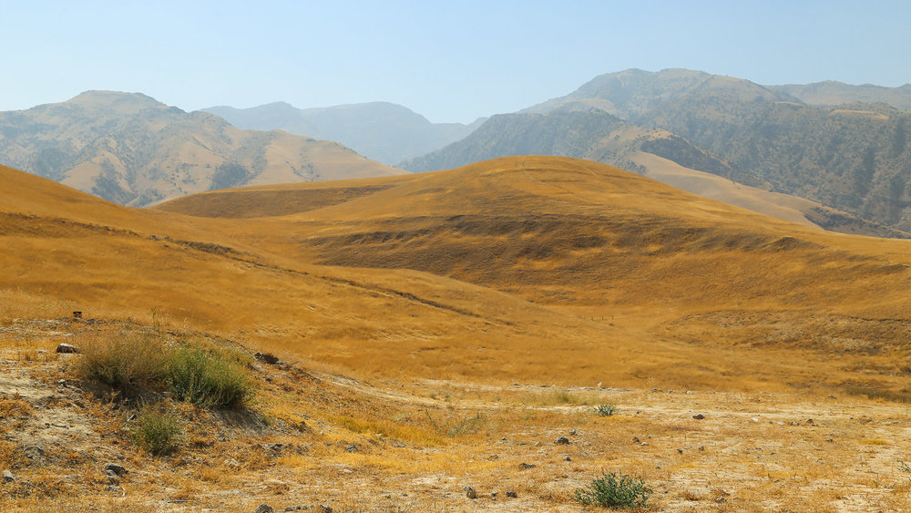 The Kopet Dag Mountains outside Ashgabat. Image:  © Alan Williams