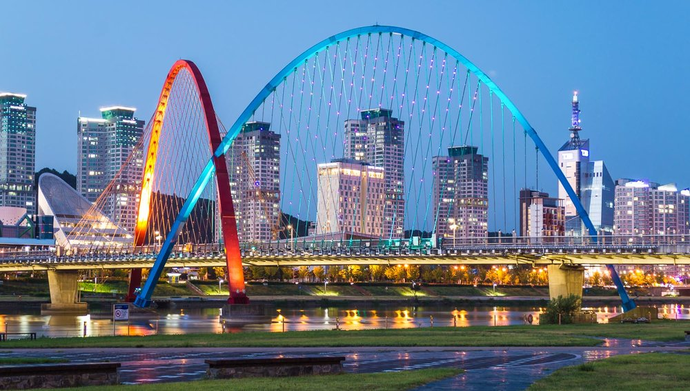 My next house sit will be in Daejeon, South Korea. Image:     Aminkorea    | Dreamstime