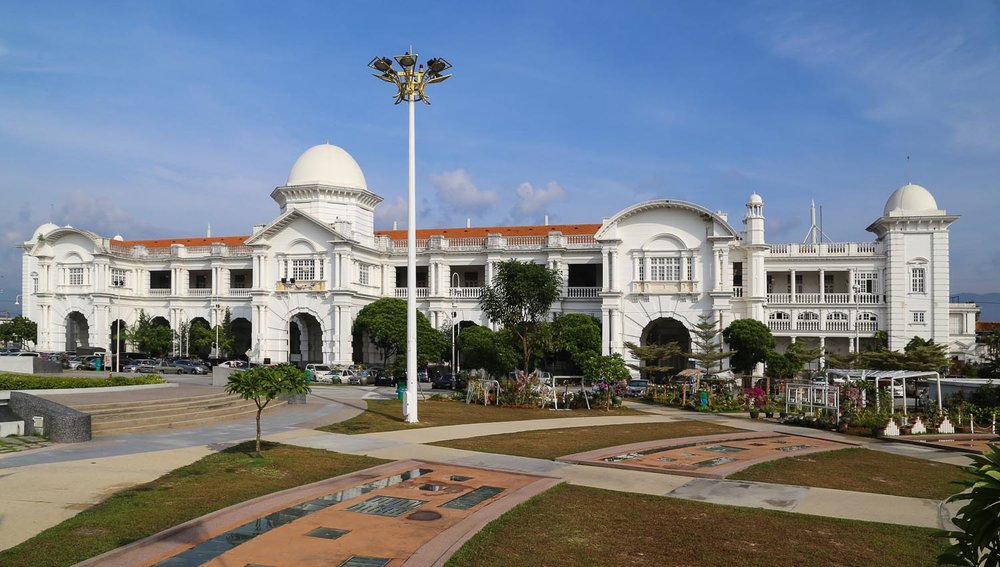 The colonial architecture of Ipoh's railway station. Image:  © Alan Williams