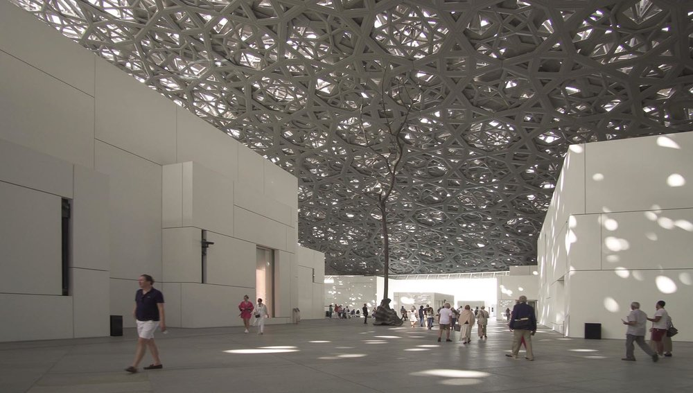 Interior of the Louvre Museum, Abu Dhabi. Image:  ©    Yykkaa    | Dreamstime