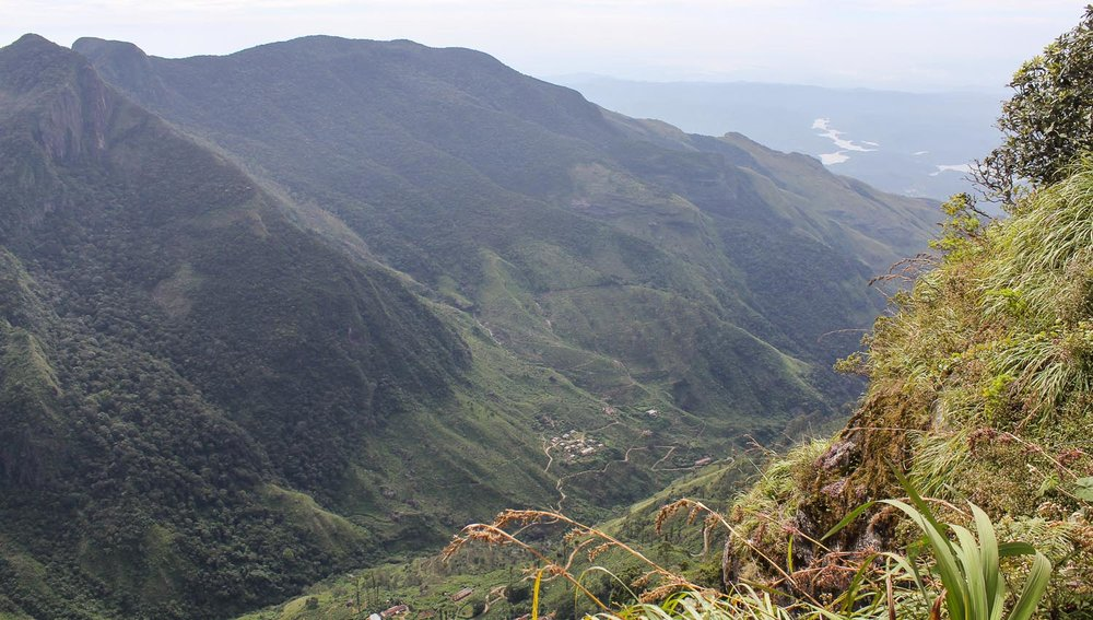 The spectacular view from World's End. Image:  © Alan Williams