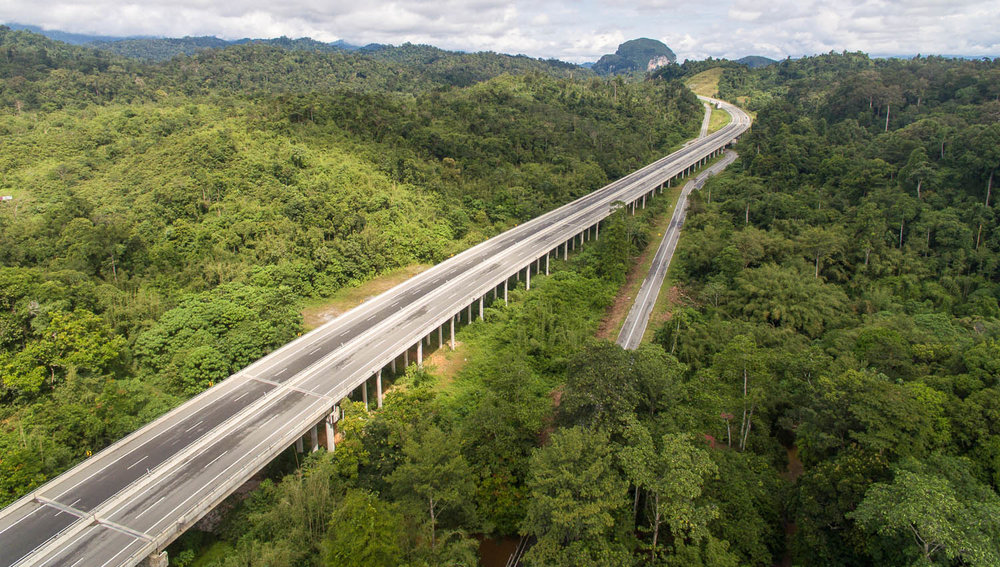 Malaysia has some excellent freeways. Image:     Apiskartun    | Dreamstime