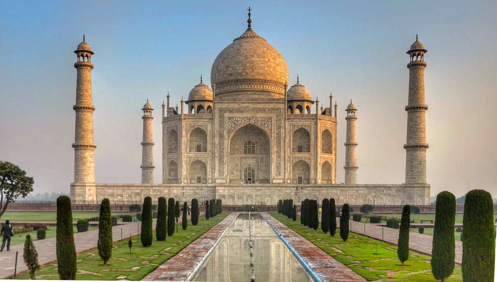 The Taj Mahal is one of India's top attractions. Image:     Richard Mcall