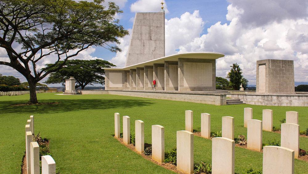 The Kranji War Cemetery in Singapore. Image:  © Alan Williams