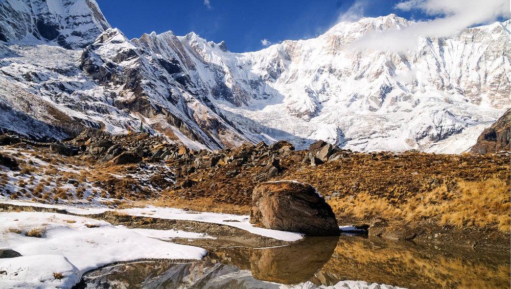 The rugged beauty of Annapurna Sanctuary. Image:     kocsisa