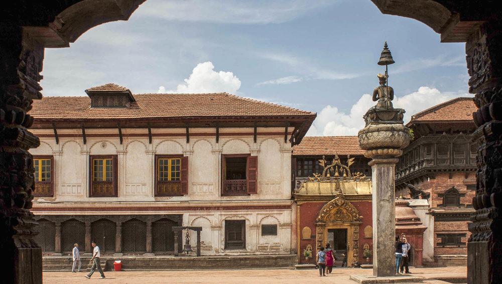 Bhaktapur has many historic buildings. Image:     Suman Maharjan