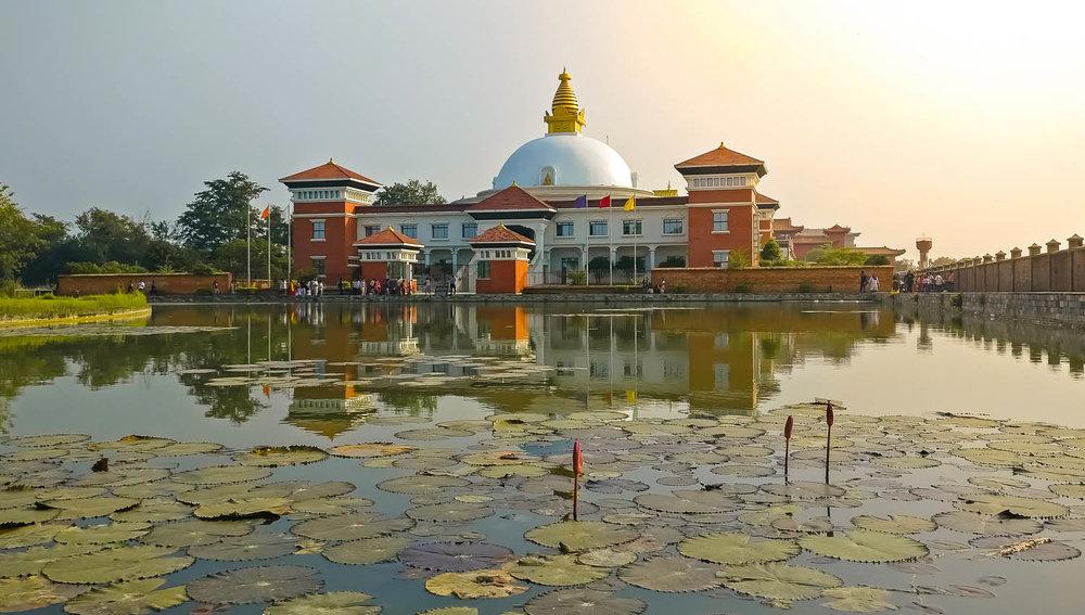 World Centre for Peace and Unity, Lumbini. Image:  ©    Siraj Ahmad    | Dreamstime